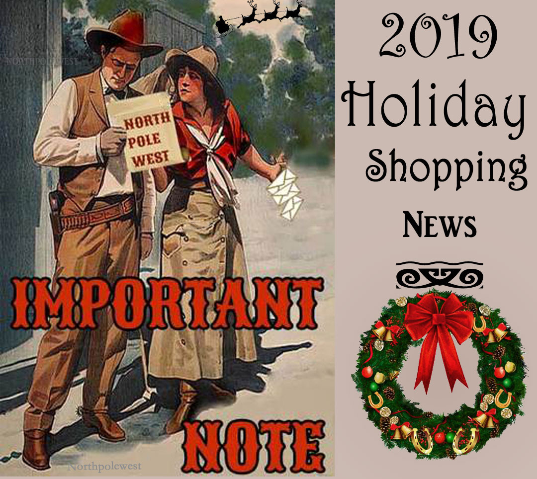 2019 Holiday Shopping & Shipping Season