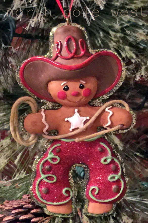 cowboy gingerbread man