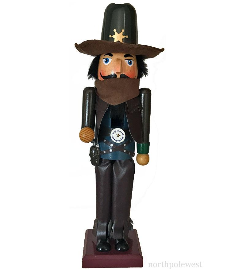 Cowboy Christmas Nutcracker - Lawman