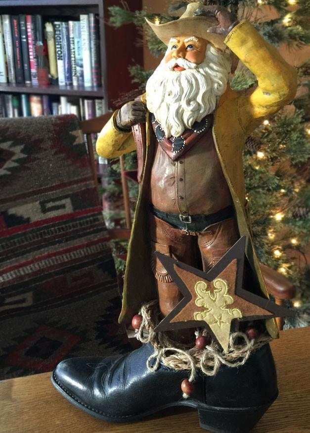 Cowboy Santa - The Star Rancher