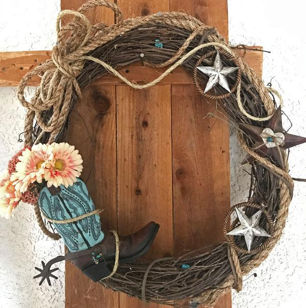 Custom Wreath-J. Vick