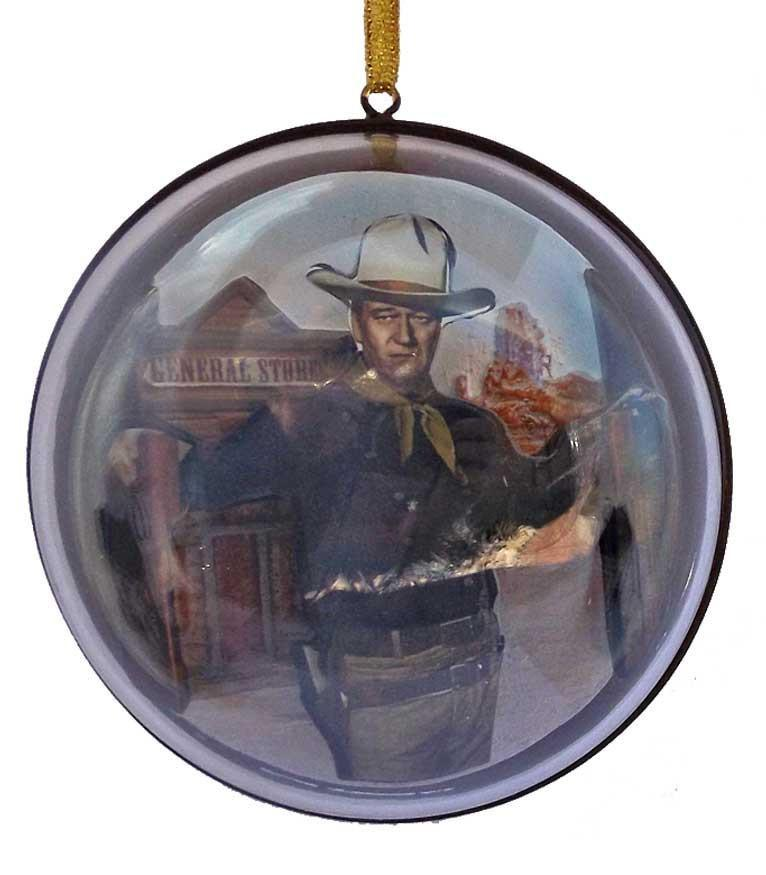 John Wayne Dome Ornament