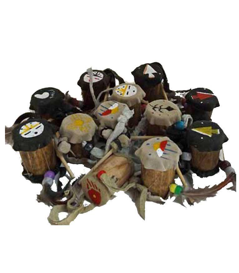 Mini  Native American Drum Ornaments