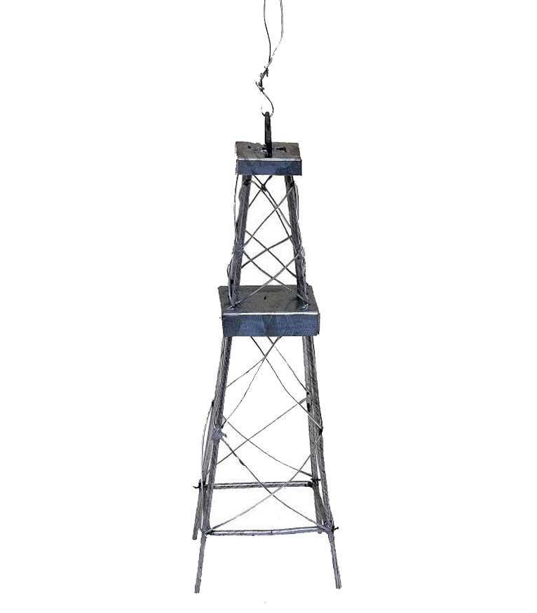 Oil Derrick Ornament