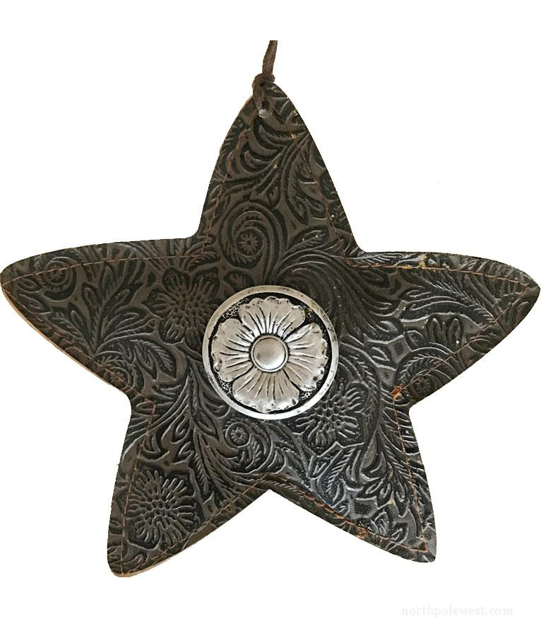 Old West Style Concho Star