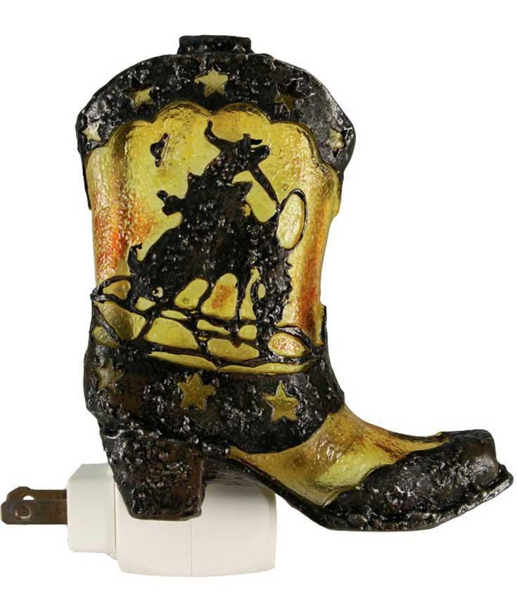 Western Night Light - Cowboy Boot- Sale