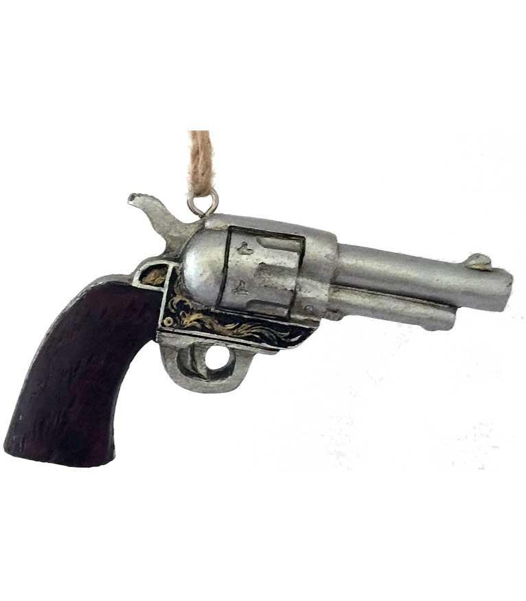 Wild West Six Gun Ornament