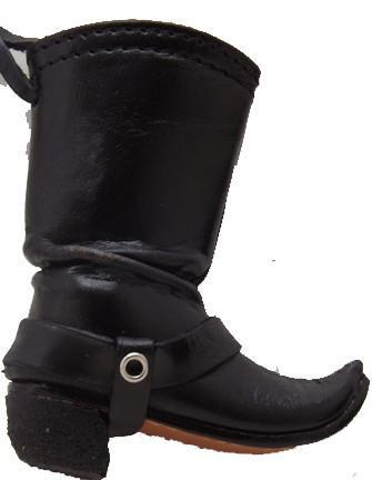 Biker Leather Boot Ornament-  Sale
