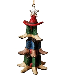 Cowboy Boots and Hat Christmas Tree Ornament