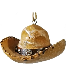 Cowboy Hat Ornament -