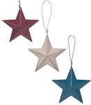 Red White & Blue Stars 5.5