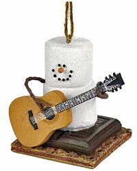 S'more Guitar Player Ornament