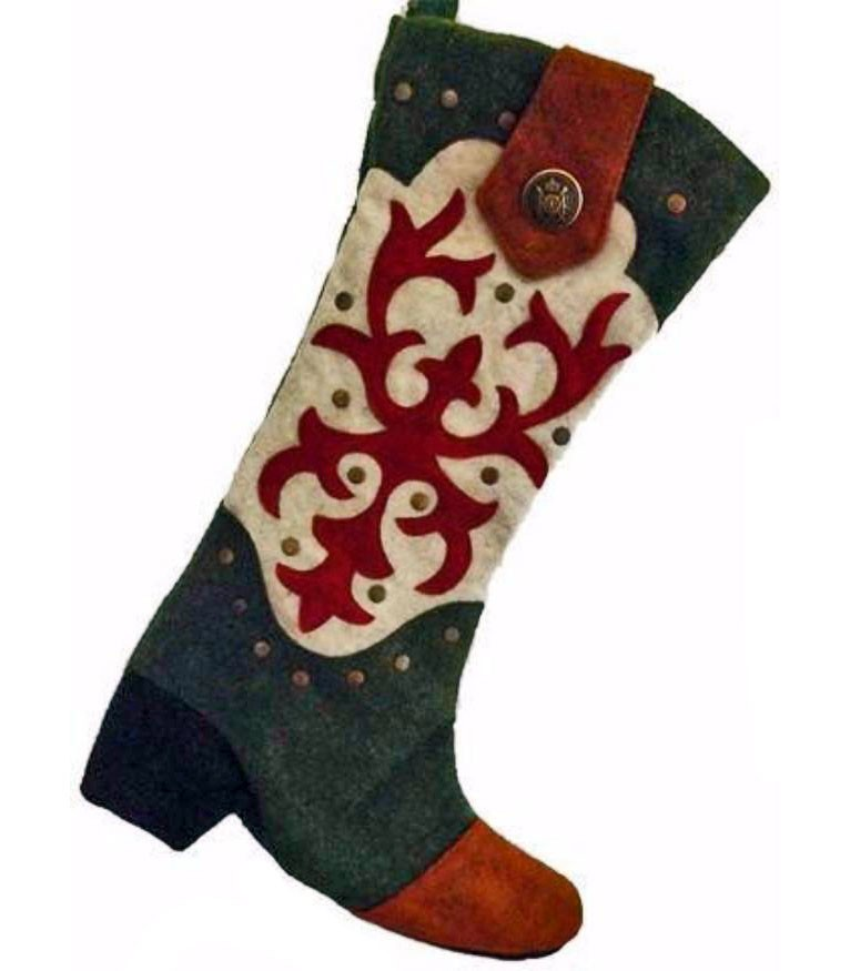 Cowboy Boot Stocking - Western Spirit