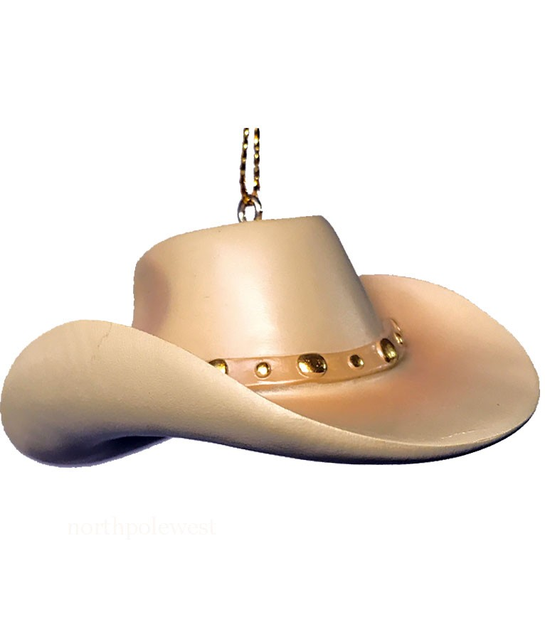 Cowgirl/Cowboy Hat Ornament -