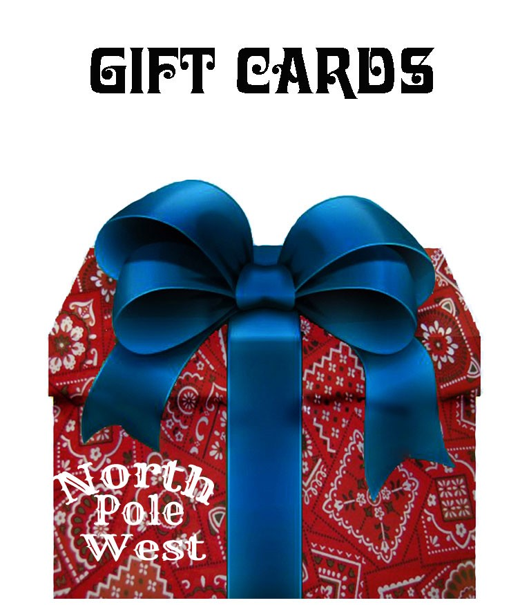 North Pole West Gift Certificate - $20.00