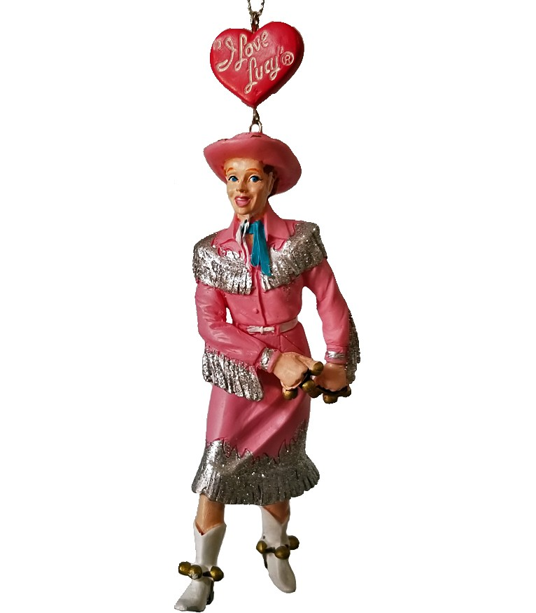 Cowgirl Christmas Ornament-