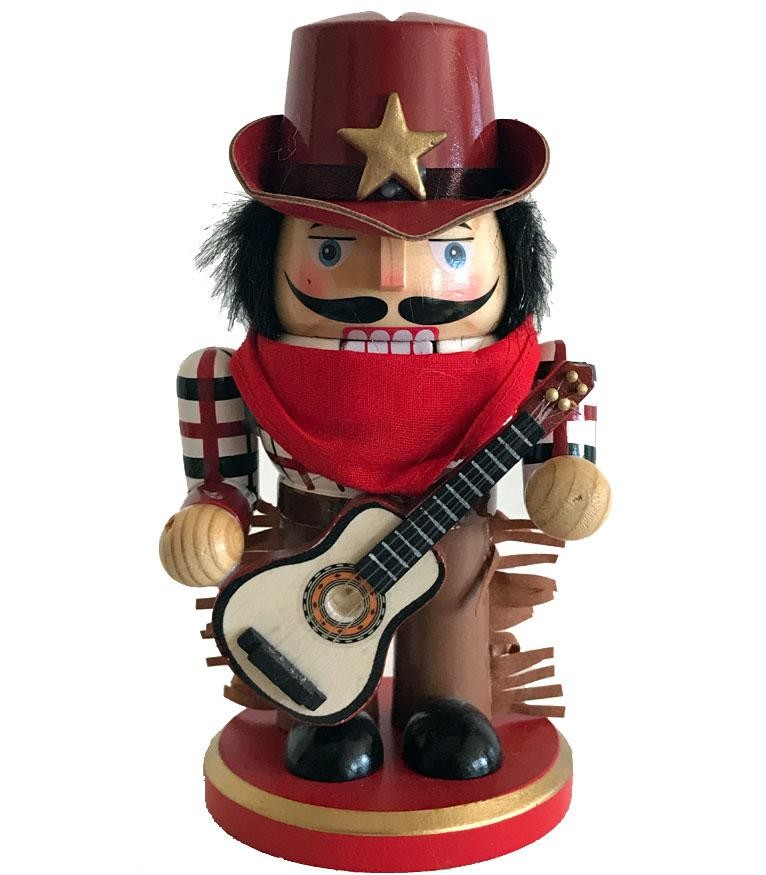 Cowboy Christmas Decor- Nutcracker- Country Music Cowboy
