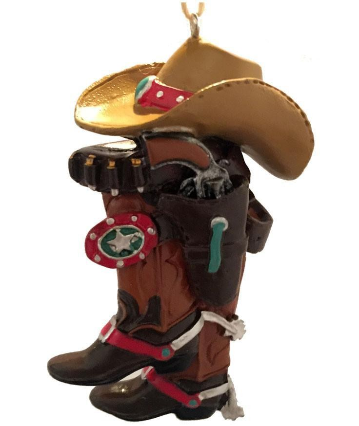 Cowboy Christmas Ornament-  Cowboy Hat & Boots