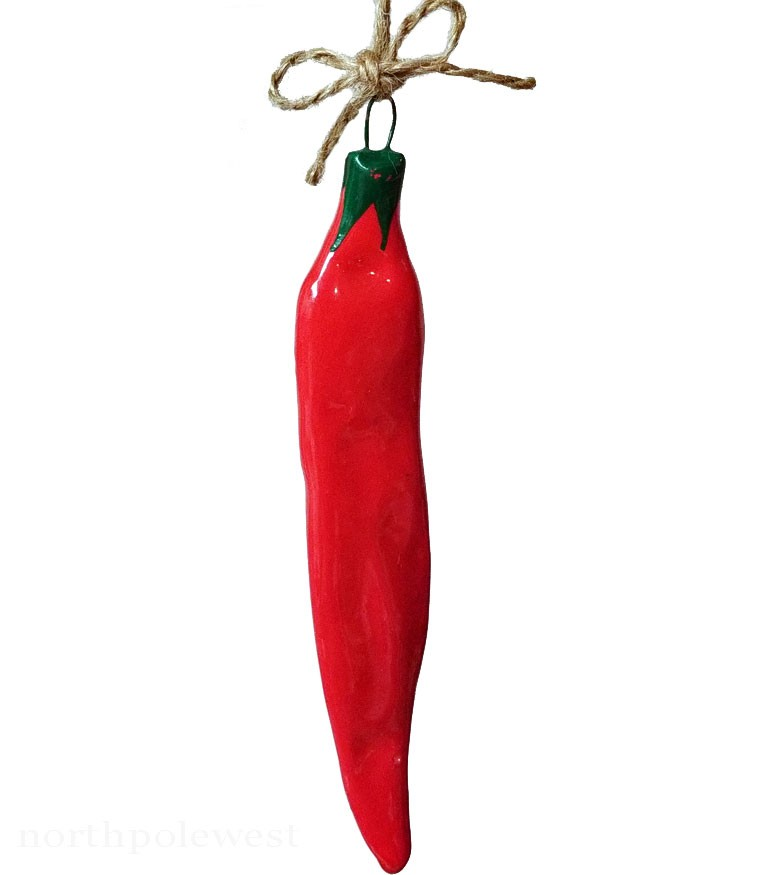 Southwestern Red Chili Pepper Ornament